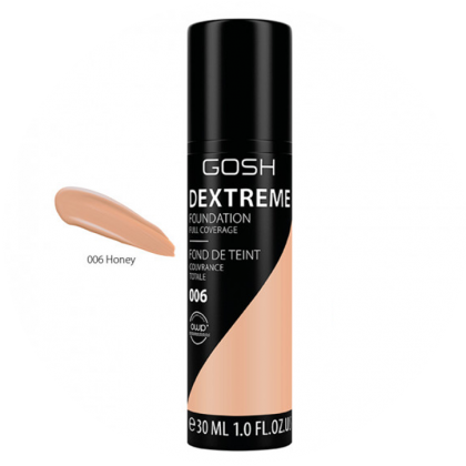GOSH Dextreme Foundation Full Coverage 30Ml