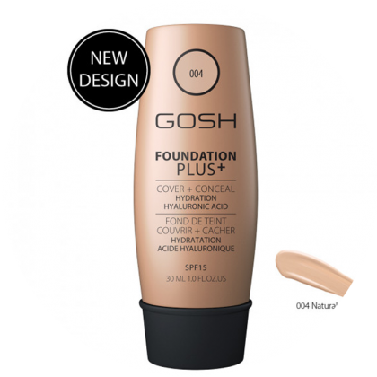 GOSH Foundation PLUS+ Foundation Cover+Conceal 30Ml