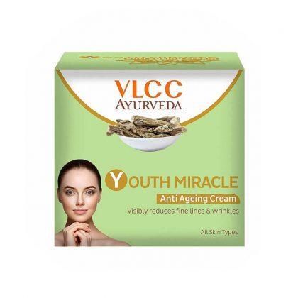 VLCC Ayurveda Youth Miracle Anti Ageing Cream 50 gm